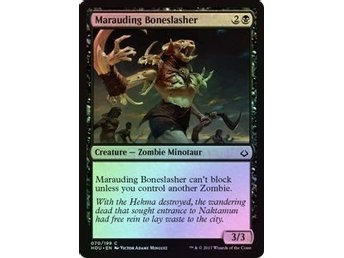 MtG Foil Marauding Boneslasher, Hour of Devastation