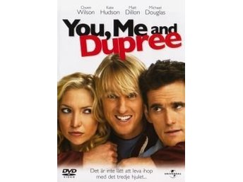 2st DVD KOMEDI-YOU, ME AND DUPREE+GIGLI (Tough Love)-Ex Rental