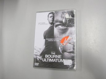 The Bourne ultimatum - Inplastad