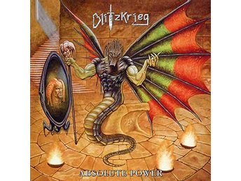 Blitzkrieg -Absolute power lp NWOBHM black vinyl ltd 100