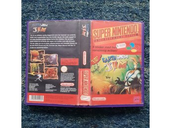 Earthworm Jim - Hyrbox - Super Nintendo Yapon SNES