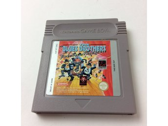 Nintendo Gameboy, Gameboy spel, The Blues Brothers Jukelox Adventure
