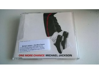 Michael Jackson - One More Chance, CD, Single, Promo
