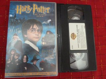 HARRY POTTER OCH DE VISES STEN,  VHS, FILM