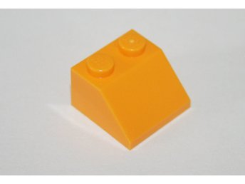 LEGO - Takbit/ Slope - 2x2 - Ljus orange- 6020181