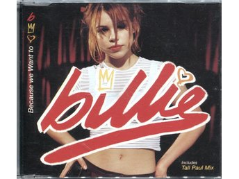 Billie Piper - Because We Want To - 1998 - CD Maxi
