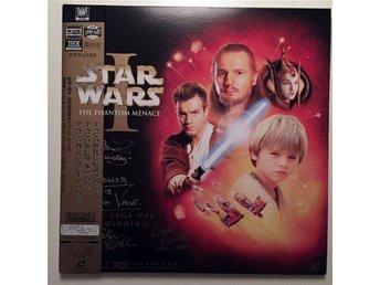 LASERDISC - STAR WARS - Episode I Phantom Menace Japan - Signerad - Höllviken - LASERDISC - STAR WARS - Episode I Phantom Menace Japan - Signerad - Höllviken