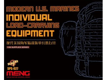Meng Model 1/35 Modern US Marines Individual Load Carrying Equipment (Resin)