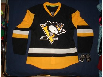 PITTSBURGH PENGUINS 2017 REEBOK EDGE 7231 PRO AUTHENTIC GAME JERSEY MATCHTRÖJA