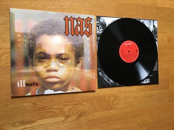 NAS - ILLMATIC Vinyl LP rap hip hop