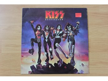 LP. Vinyl. Kiss. Destroyer
