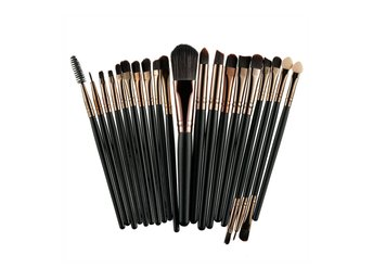 20-pack Professionella Make-up/Sminkborstar