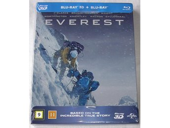 Everest 3D (STEELBOOK) (Blu-ray) **HELT NY**