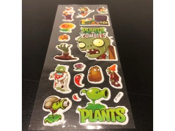 Klistermärken Plants vs Zombies