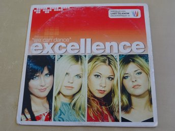 EXCELLENCE Last to know We can dance Melodifestivalen 2002 CD Singel