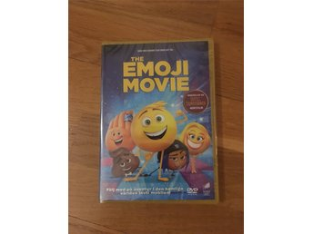 The Emoji Movie DVD - NY och inplastad! Svensk version - Emoji Movie -