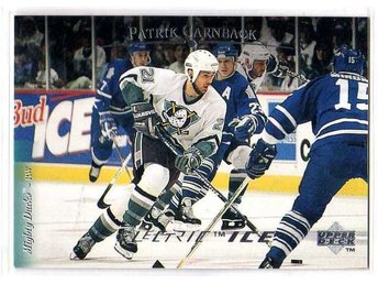 1995-96 Upper Deck Electric Ice #180 Patrik Carnbäck