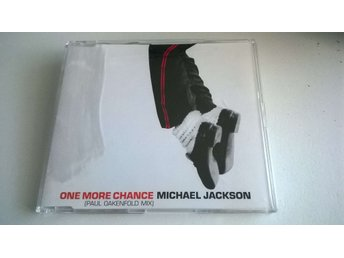 Michael Jackson - One More Chance, Paul Oakenfold Mix, Promo