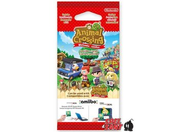 Animal Crossing Welcome amiibo! cards Pack (3 Set)