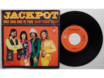 """JACKPOT 'One And One Is Two' 1974 Dutch 7"""" - Bröndby - JACKPOT 'One And One Is Two' 1974 Dutch 7"""" - Bröndby"""