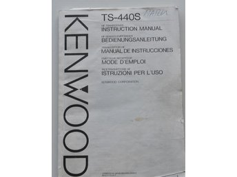 Kenwood 440S Manual