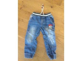 Jeans i mycket fint skick! Strl: 98 Märke: Next - Huddinge - Jeans i mycket fint skick! Strl: 98 Märke: Next - Huddinge