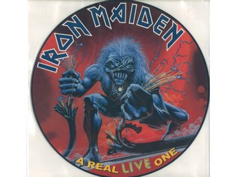Bild LP Iron Maiden - A Real Live One