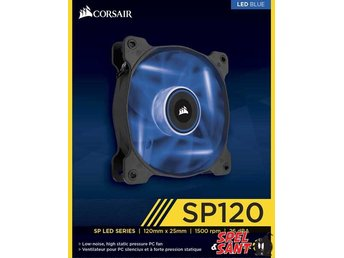 Corsair Air Series SP120 LED Blue High Static Pressure 120mm Fläkt