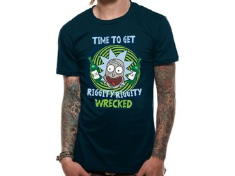 RICK AND MORTY - RIGGITY RIGGITY WRECKED (UNISEX) - Medium