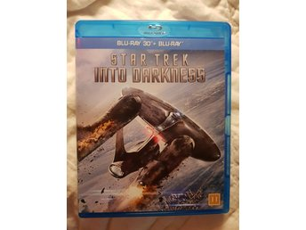 BLU-RAY 3D STAR TREK INTO DARKNESS.