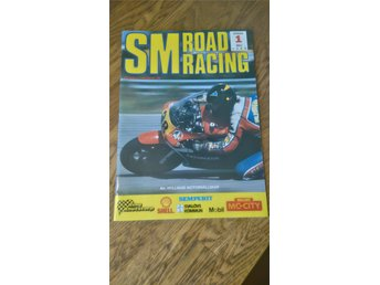 SM Road Racing 1 maj 1988 program