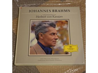 BRAHMS - The 4 Symphonies, etc - KARAJAN - DGG 7-LP