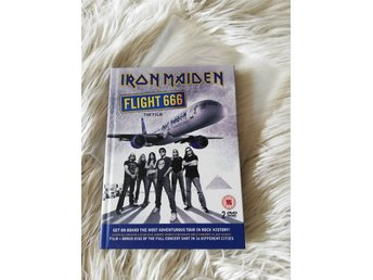 Iron Maiden flight 666, mediabook & DVD