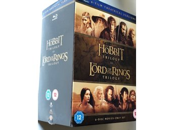 HOBBIT / LORD OF THE RINGS TRILOGI Blu-ray