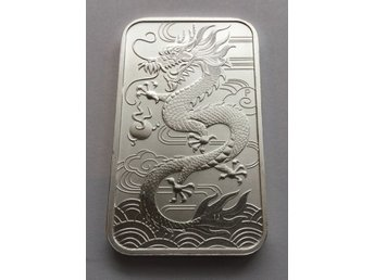 Dragon bar 1 oz, silver tacka