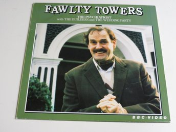 FAWLTY TOWERS: THE PSYCHIATRIST (Laserdisc) John Cleese