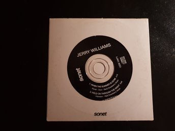 JERRY WILLIAMS - When the summer is gone /Cds original 1993
