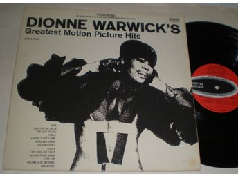 Dionne Warwick LP Greatest Motion Picture Hits US 1969 VG++