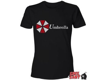 Resident Evil Umbrella Corporation T-Shirt Svart (Small)