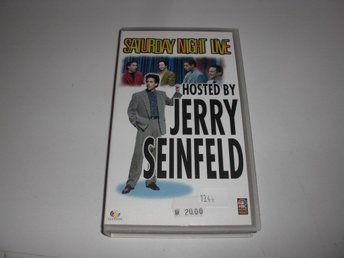Saturday night live  -  Hosted by Jerry Seinfeld  -  VHS