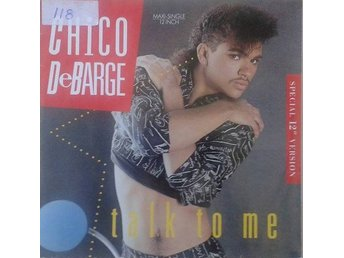 "Chico DeBarge title* Talk To Me* Disco  12""-maxi EU"