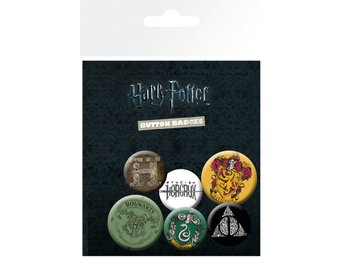 Pin Badge Pack - Harry Potter Icon Pack (BP0353)