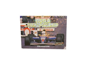 Nigel Mansell's World Championship Racing (Manual Nes NOE)