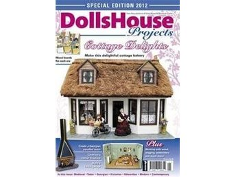 Dolls House projects Cottage Delights. Otroligt inspirerade magasin om dockskåp
