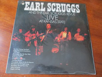 EARL SCRUGGS - Live At Kansas State, LP Re Columbia USA SEALED Bluegrass
