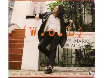 World Of Leather-St. Mark's Place / CD med extra omslag