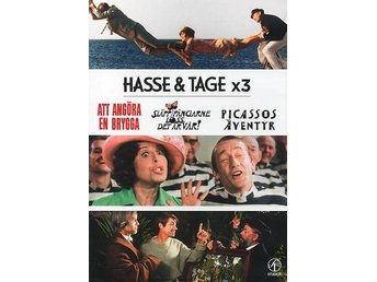 Hasse & Tage x 3 (2 DVD)