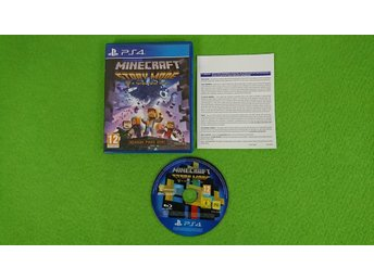 Minecraft Story Mode Playstation 4 PS4
