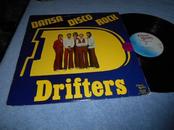 Drifters - Dansa Disco Rock (LP) 1977