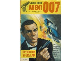 Agent 007 James Bond nr 1 1965 m Sean Connery